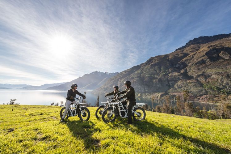 4- Recorré Nueva Zelanda en bicicleta, Crédito Real Journeys Queenstown_preview