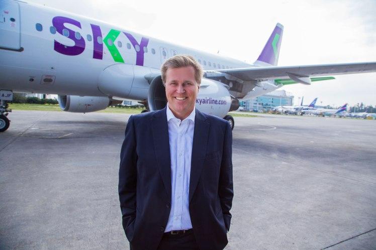 El CEO de SKY, Holger Paulmann