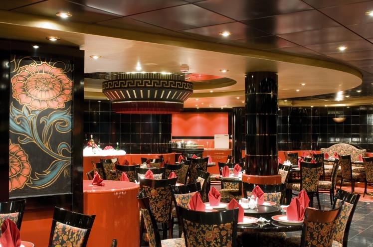 MSC Orchestra - Restaurante Shangai
