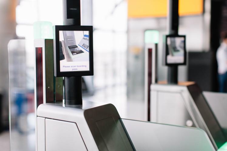 sistema biométrico de embarque