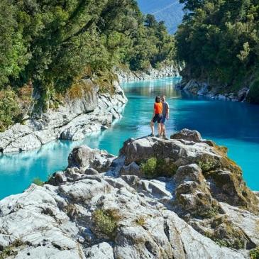 Hokitika Gorge, en la Costa Oeste de Nueva Zelanda – Crédito: Divulgación