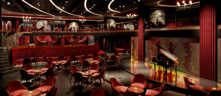 MSC Seashore Aft Lounge
