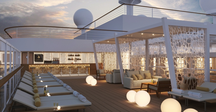 MSC Seashore Aurea Bar